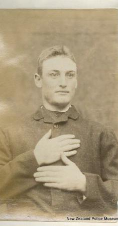 Mug shot of George Evans