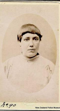 Mug shot of Jane Brown