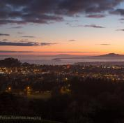 Sunrise from One Tree Hill - Auckland