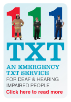 111 txt - an emergency txt service for deaf and hearing impaired people