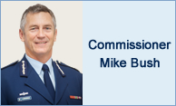 Commissioner Mike Bush
