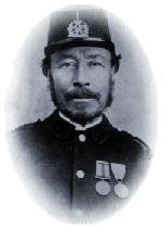 Head and shoulders photograph of Sergeant John Nash