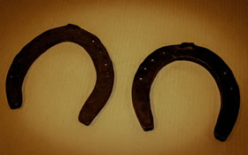 Photo of horse shoes