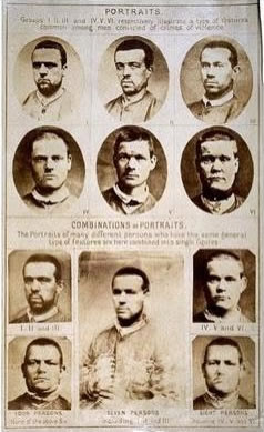 Composite Portraits of Men Convicted of Violent Crimes by Sir Francis Galton