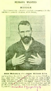 Photo - Police Gazette John McKenzie