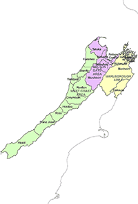 View larger map of Tasman police district in pop up box.