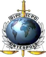 Interpol logo.