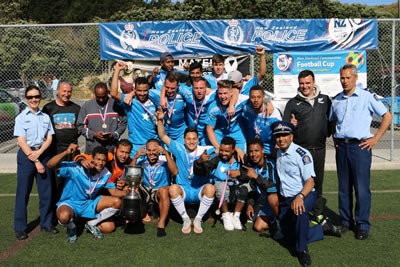 New Zealand Communities Football Cup 2015 winners - Somalia Wellington