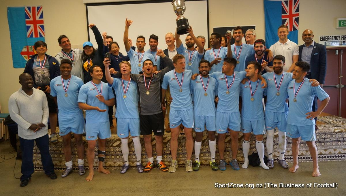 New Zealand Communities Football Cup 2016 winner - RYAN