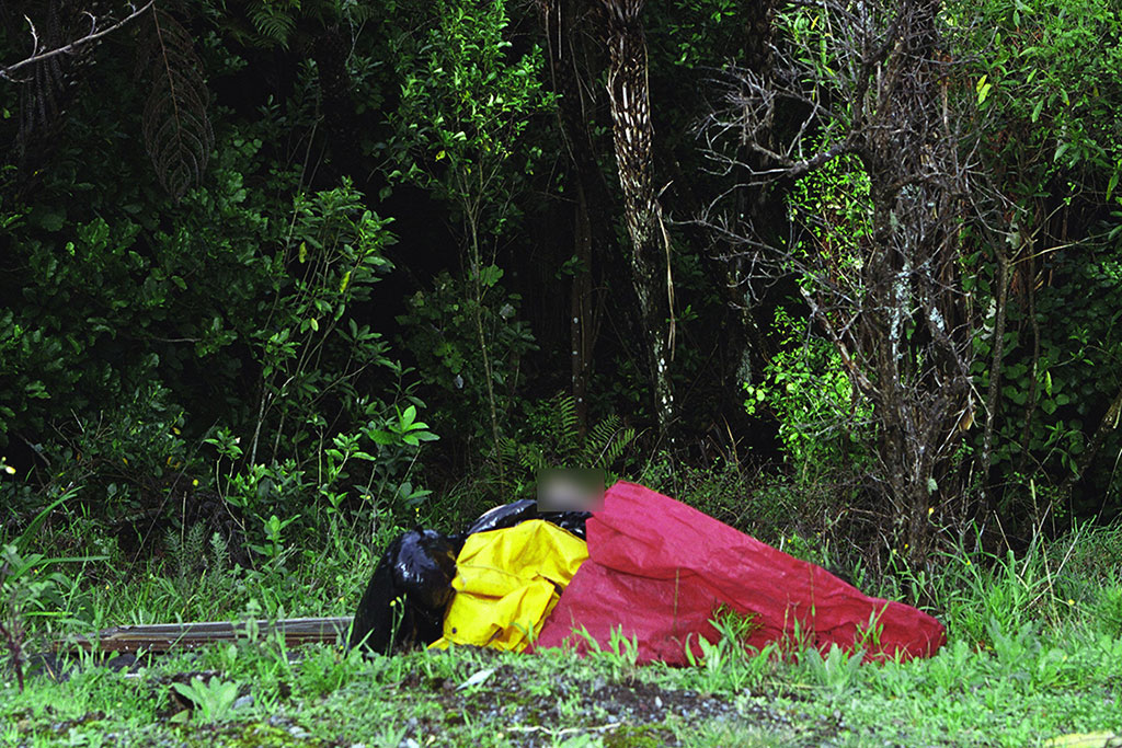 A member of the public out walking found Katrina's body.