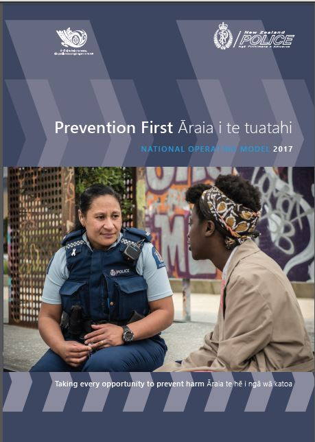 Prevention First front cover