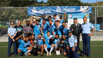 The winners - Wellington's Team Somalia