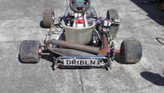 One of the Go Karts