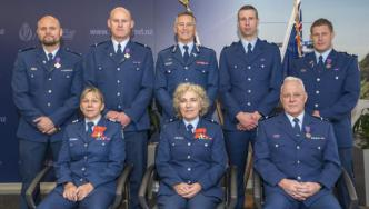 Officers recognised with awards at Government House