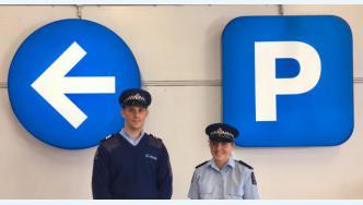 Prevention Sergeants Hamish Knight and Raewyn Herrick