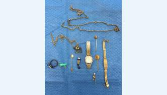 stolen jewellery recovered by Police
