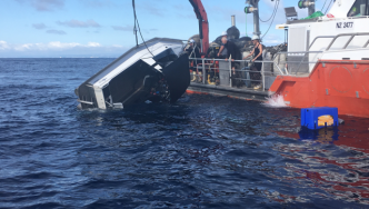 The boat is recovered.