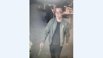 CCTV image of Wu on the day he went missing