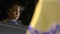 Boy watches from car in drink-drive TV ad