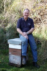 Senior Constable Brice Horner, airport cop and beekeeper