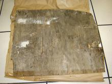 A piece of Marine ply was also found.