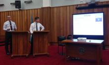 Detective Ian Foster and Detective Scott Neilson, of Waikato District, present on Operation Daydream at the