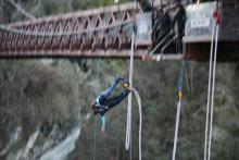 South: The great southern experience - the torch goes on a bungey jump