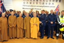 North: Guests of the Fo Guang Shan Temple, Counties Manukau.