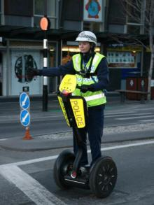 South: The only way is Segway.