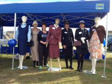 Wairoa Police staff at the 75 years celebrations