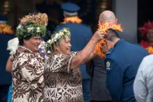 The Cook Islands community turned out in force for the first meeting of the ISN.