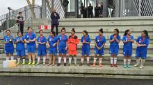 The winning Tuvalu women's team.