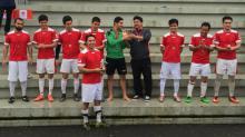 The winning Afghanistan men's team.