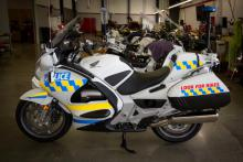 New police motorcycles launched