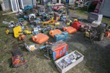 Tools and other items recovered