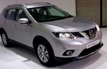 Silver 2017 Nissan X-Trail