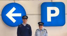 Prevention Sergeants Hamish Knight and Raewyn Herrick