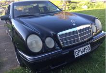 Wellington Police seeking passenger of this Mercedes in relation to homicide investigation