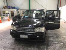 One of the vehicles seized through Operation Janzi