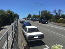Tasman and Canterbury Police road policing operation at Bay Dreams festival