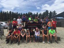 Police and school students take on Otago Rail Trail