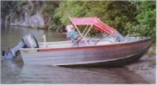 1993 Fyran 440 alloy runabout