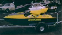 1998 Seadoo Bombardier XP limited. Black