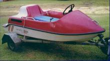 Little Gripper jet boat