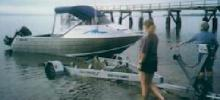 1997 Mclay 585 Fisherman alloy runabout.