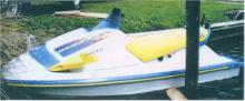1995 Yamaha Waveraider 700cc White with