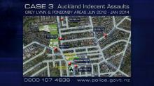 Case 3: Ponsonby Indecent Assaults, Auckland - Map