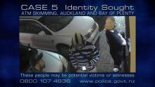 Case 5: Witnesses Sought - ATM Skimming