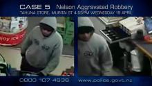 Case 5: Crime of the Week - Tahuna Store Aggravated Robbery, Nelson