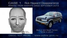 Case 1: Rick Hayward Disappearance Update